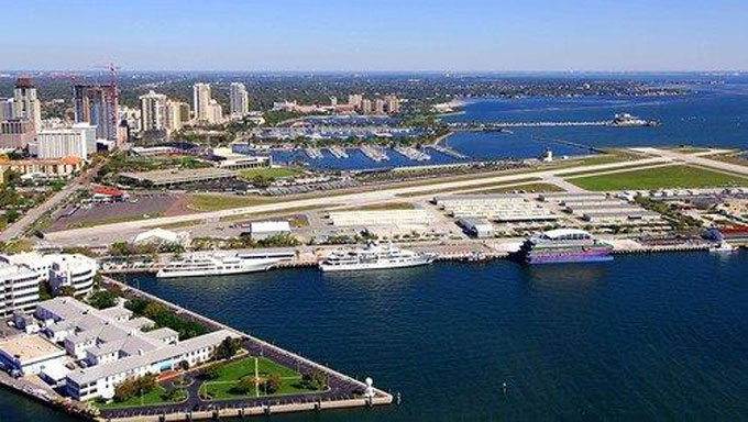 Shuttle from Naples to Cruise Ships and Seaports in Port of St. Petersburg in and near Florida