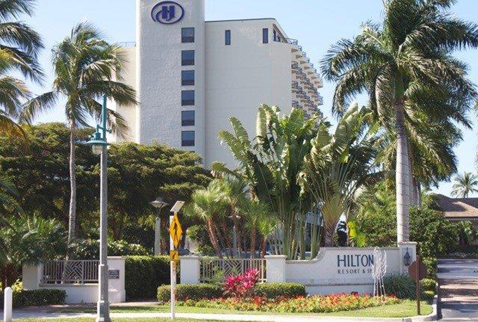 Airport Shuttle to and from Naples to Hilton Marco Island Beach Hotel in and near Florida